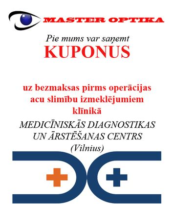 Master Optika kupons