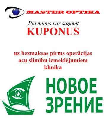 Master Optika - kupons 1